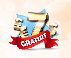 7 euros gratuits
